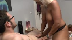 German mommy fuck her nerds stepson