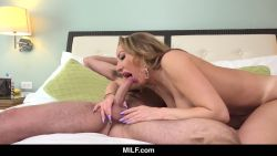 Racked MILF Richelle Ryan Bangs the Cute Delivery Boy
