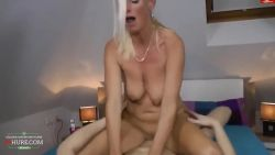 Hot german mom want his son dick
